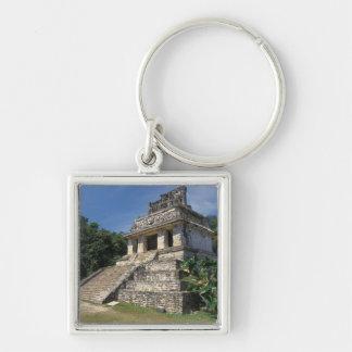 Provincia de México, Chiapas, Palenque. Templo de Llavero Cuadrado Plateado
