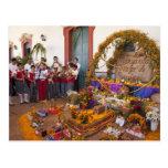 Provincia de México, Oaxaca, Ocotlan, estudiantes  Postales