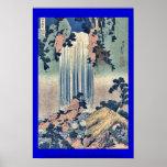 Provincia de Mino de la cascada de Yoro por Katsus Posters