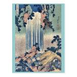 Provincia de Mino de la cascada de Yoro por Katsus Tarjetas Postales