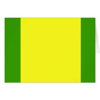 Provincia del EL Oro, bandera de Ecuador Tarjeta
