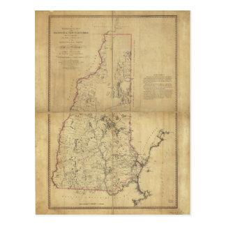 Provincia del mapa topográfico de New Hampshire Postal