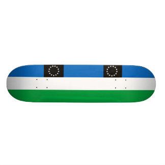 Provincia negra del río, bandera de la Argentina Patineta Personalizada