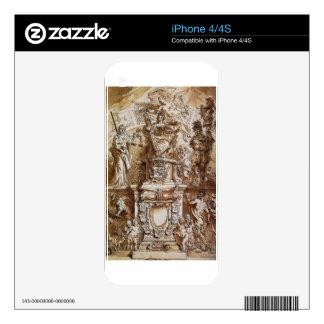 Provincia unida alegoría de Theodoor van Thulden Skins Para iPhone 4S