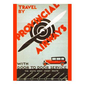 Provincial Airways Post Card