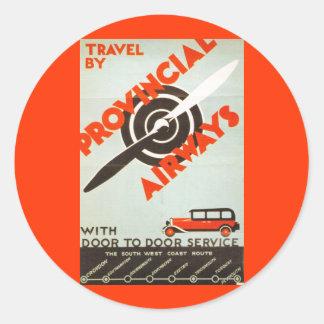 Provincial Airways Sticker
