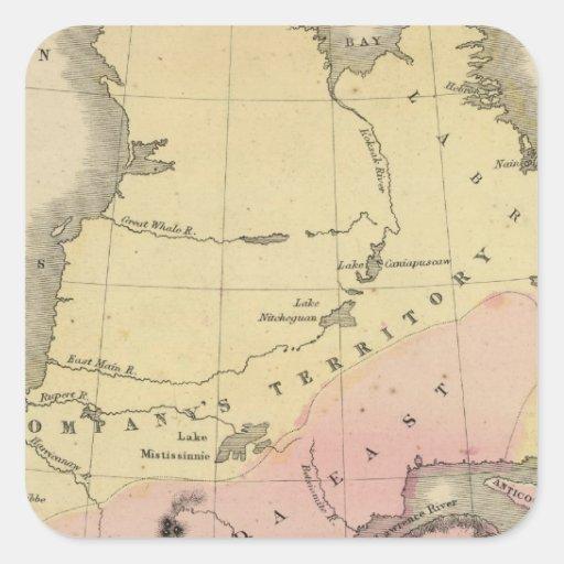 Provincias británicas de Norteamérica Colcomania Cuadrada