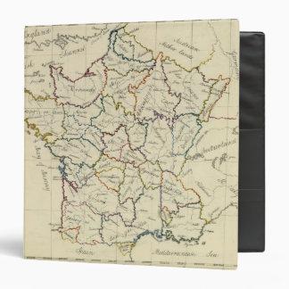"""Provincias de Francia Carpeta 1 1/2"""""""