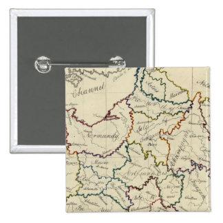 Provincias de Francia Pins