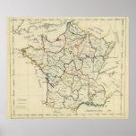 Provincias de Francia Póster