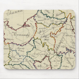 Provincias de Francia Tapete De Ratón