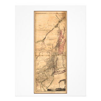 Provincias de Nueva York y de New Jersey (1768) Membrete