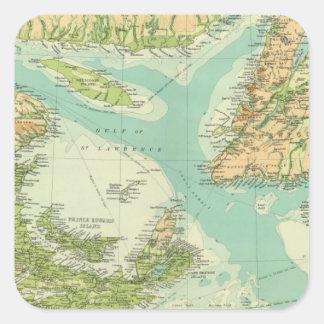 Provincias marítimas y Terranova Pegatina