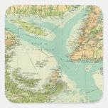 Provincias marítimas y Terranova Colcomanias Cuadradases