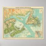 Provincias marítimas y Terranova Poster