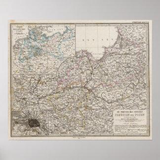 Provincias prusianas impresiones