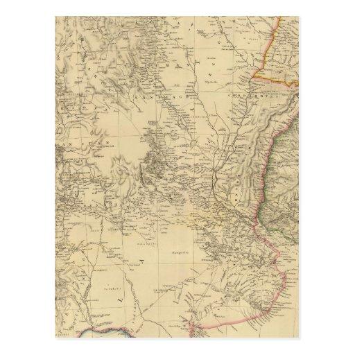Provincias unidas de La Plata, Banda Oriental Tarjeta Postal