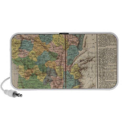 Provincias y departamentos de Francia iPod Altavoz