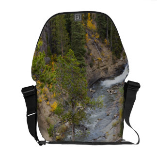 Provo River and aspen trees 14 Courier Bag