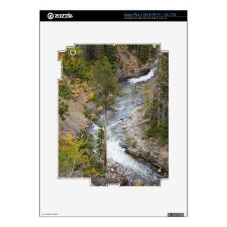 Provo River and aspen trees 14 iPad 3 Skins
