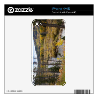 Provo River and aspen trees 5 Skin For iPhone 4S