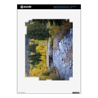Provo River and aspen trees 8 Skin For iPad 3