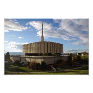 Provo Temple Photo Print