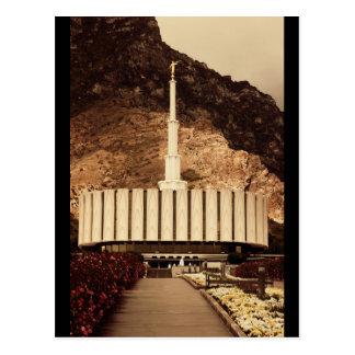 Provo, templo de Utah LDS Tarjetas Postales