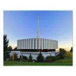 Provo, Utah LDS Temple Photo Print
