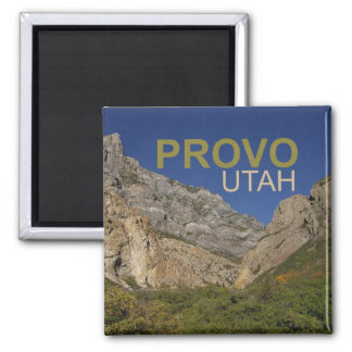 Provo Utah Travel Photo Souvenir Fridge Magnet