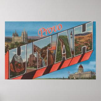 Provo, UtahLarge Letter ScenesProvo, UT 2 Poster