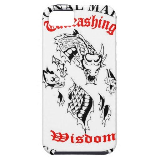 Provocación de la sabiduría iPhone 5 carcasa