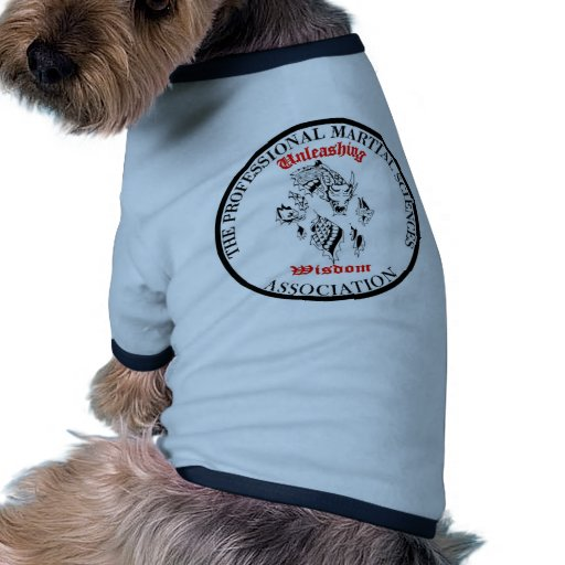 Provocación de la sabiduría ropa para mascota