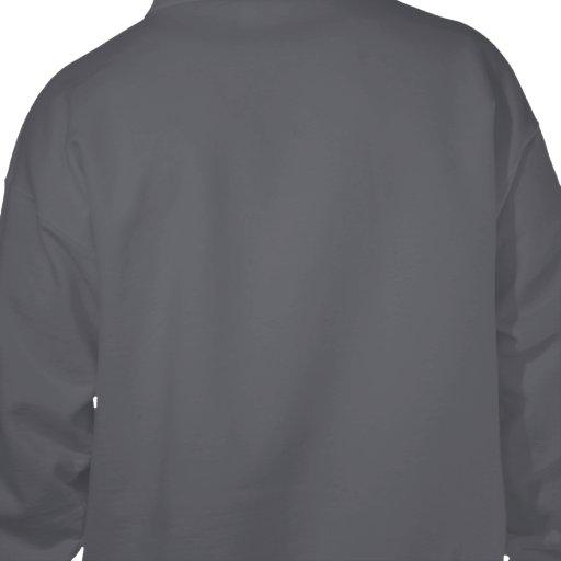 provocativo, desafiando sudadera pullover