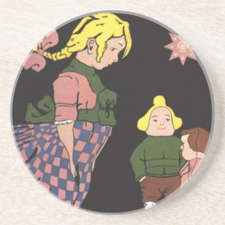 Provodnik Rubber Toys Russian Vintage Advertising Coasters