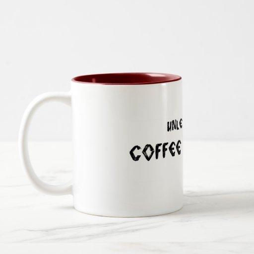 Provoque al monstruo del café taza de dos tonos