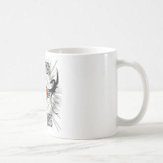 Provoque la luz de los dragones de la locura taza básica blanca
