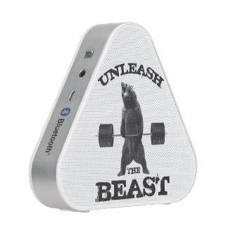 Provoque la motivación del gimnasio de la bestia altavoz