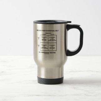 Provoque su prueba estadística de la hipótesis del taza