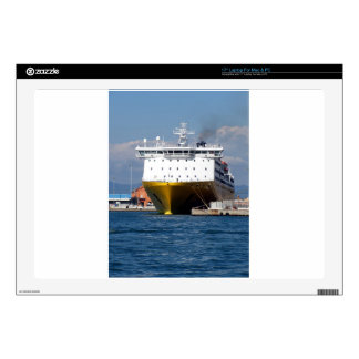 """Prow view italian ferry decal for 17"""" laptop"""