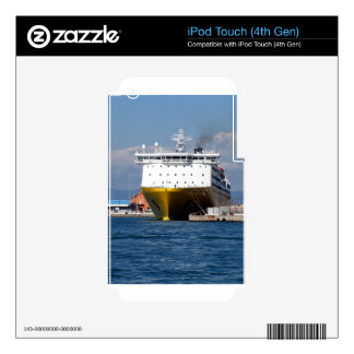 Prow view italian ferry skins for iPod touch 4G