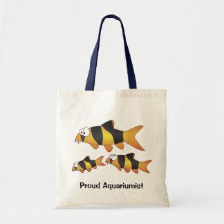 Prowd aquariumist TOTE -Clown loach family Bag