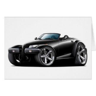 Prowler Black Car Card