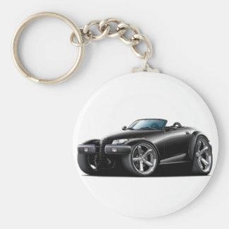 Prowler Black Car Keychain