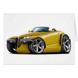 Prowler Gold Car Card