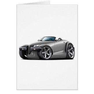 Prowler Grey Car Card