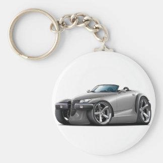 Prowler Grey Car Keychain