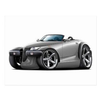 Prowler Grey Car Postcard