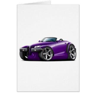 Prowler Purple Car Card