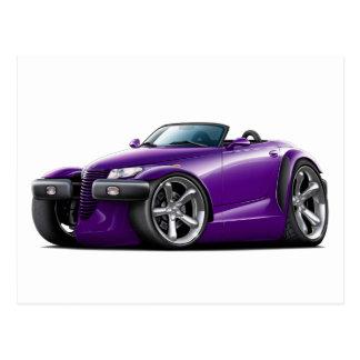 Prowler Purple Car Postcard
